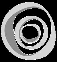 Logo SC Trade blanco y negro