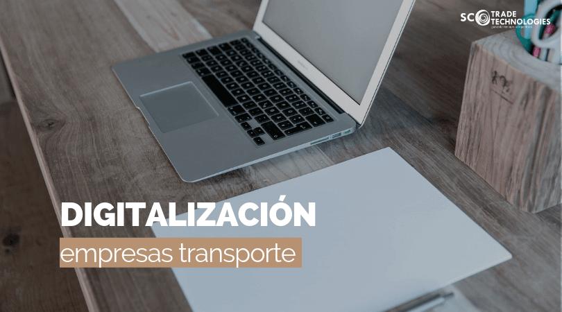 La digitalización de las empresas de transportes