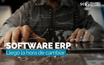 Ha llegado la hora de cambiar de Software ERP
