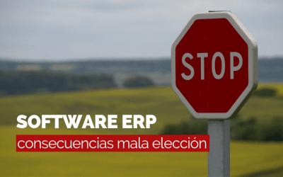 Errores derivados de una mala elección de ERP
