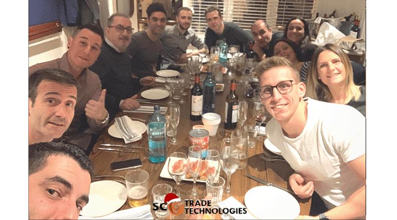 Cena de Navidad 2019 SC Trade Technologies