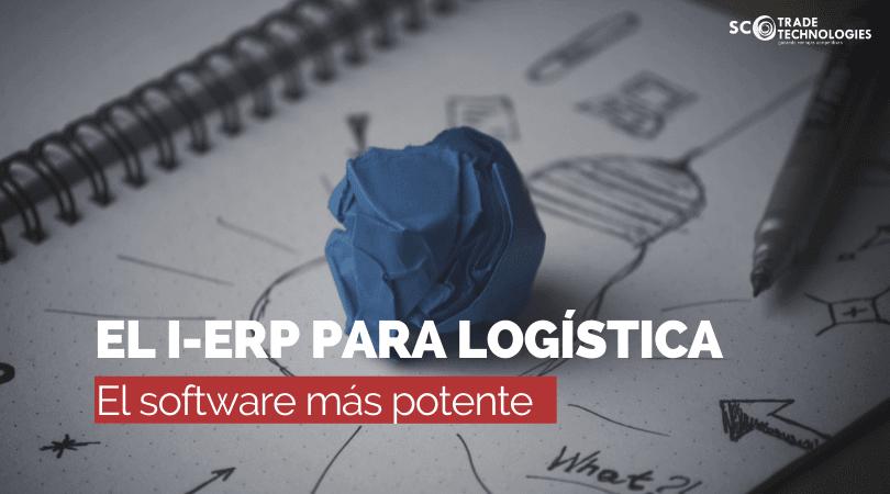 Descubre el i-ERP para logística, el Smart software más potente